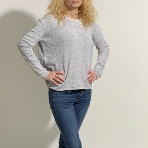 Soft Italian Grey Sweater - Tag Removed
